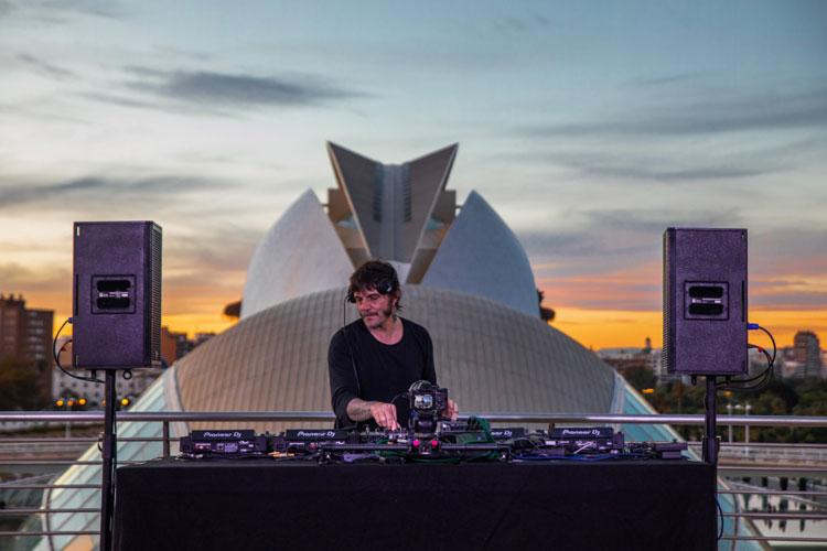 Óscar Mulero ofrece una sesión en streaming para el Volumens Festival