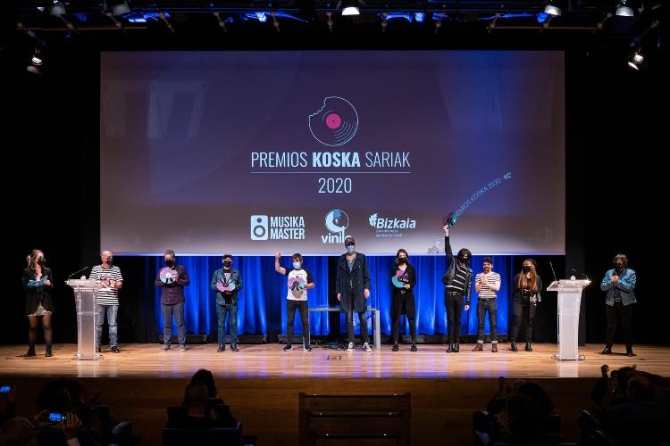 Entregados por tercer año los Premios Koska
