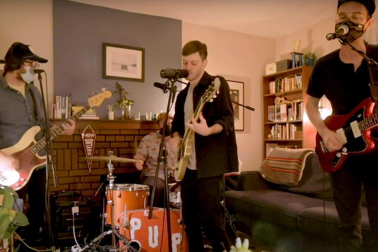 """El punk pop de los canadienses PUP en """"Tiny Desk (Home) Concert"""""""