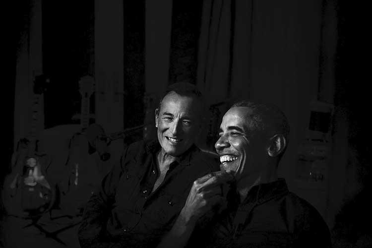 Bruce Springsteen y Barack Obama juntos en un nuevo podcast