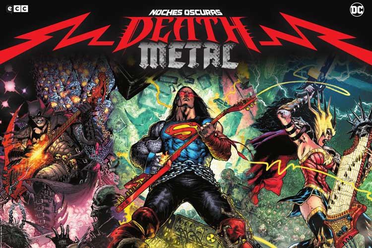 """Ozzy, Ghost, Sepultura y más en el cómic """"Noches Oscuras: Death Metal"""""""