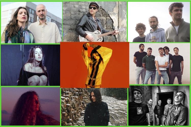 Zarata Express 10/21: Verde Prato, Maren, Sara Zozaya, Ameba, Los Flamingos, Lee Perk, Lamiak…