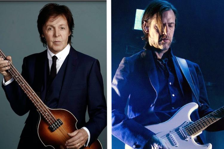 """Paul McCartney cuenta con EOB (Radiohead) para el remix de """"Slidin'"""""""