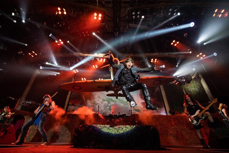 Iron Maiden aplazan su gira a 2022, incluyendo su concierto en Barcelona