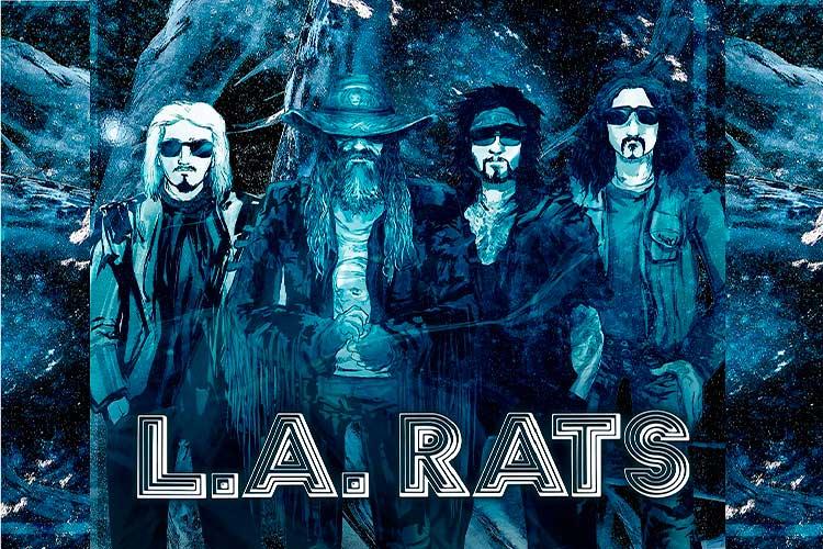 Rob Zombie, Nikki Sixx, John 5 y Tommy Clufetos se unen en L.A. Rats