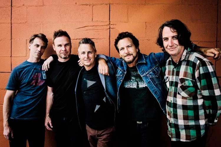 Pearl Jam comparten en streaming casi doscientos conciertos en directo