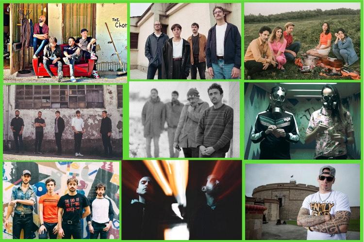 Zarata Express 21/21: Audience, Exnovios, Las Penas, Río Arga, Noir Socha, Impacto Vudú, Bonzos, Hegazkin…