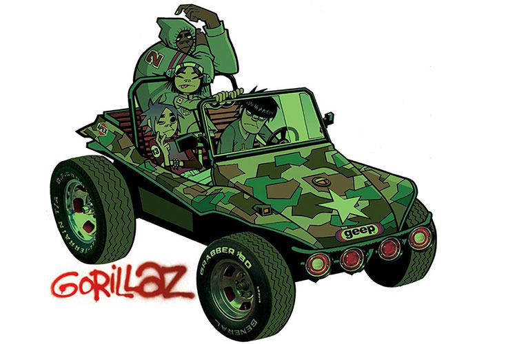 Rememoramos el debut de Gorillaz por su 20º aniversario