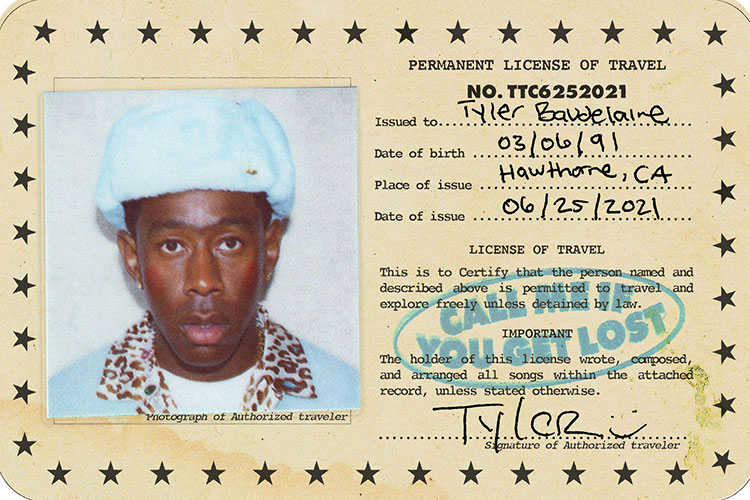 """Tyler, The Creator avanza dos temas de """"Call Me If You Get Lost"""""""