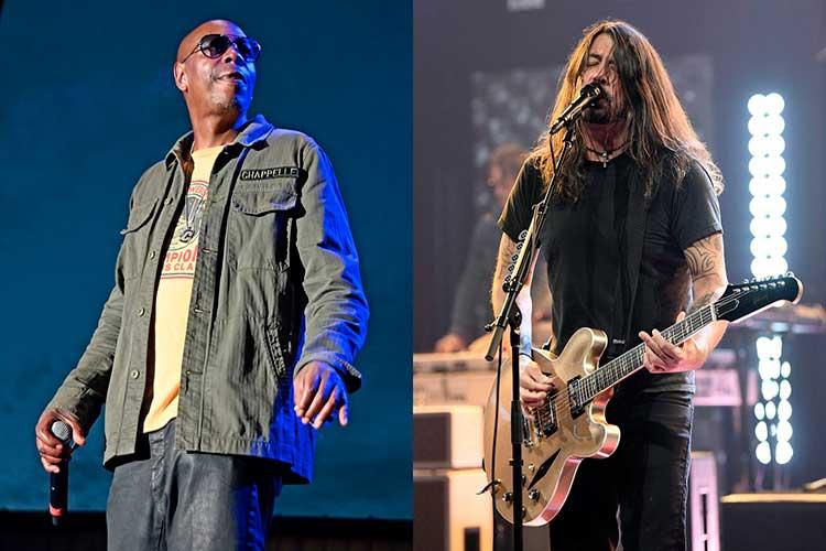 """Foo Fighters y el humorista Dave Chappelle versionan """"Creep"""" (Radiohead)"""