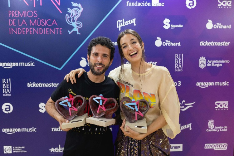 Se entregan los Premios MIN: Delaporte es el grupo más premiado