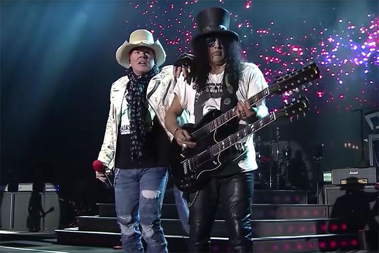 "Guns N' Roses publican otro tema inédito, ""Hard Skool"""