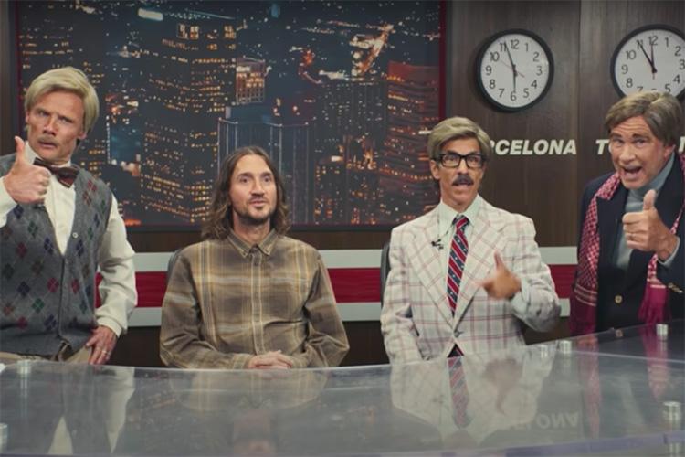 Red Hot Chili Peppers anuncian gira mundial con un divertido vídeo